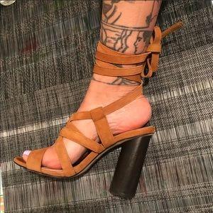 7- Aldo wrap around heels